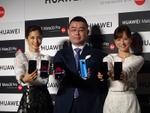 3眼カメラのファーウェイ・HUAWEI Mate 20 Proに安田美沙子さんと皆藤愛子さんも感動