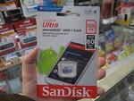 サンディスクのmicroSDカード128GBが1980円!