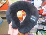 寝ながら音楽! 旅行用首枕型の激安Bluetoothスピーカー