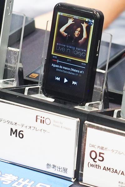 2万円程度の低価格で勝負、LDAC/aptX HD両対応の「FiiO M6」