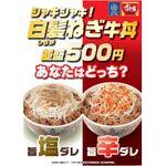 【本日発売】すき家 選べる「白髪ねぎ牛丼」