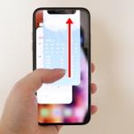 iPhone XS/XRのタスク終了方法とアプリ強制終了方法