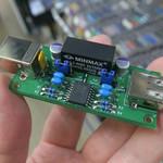 超コンパクトなUSBアイソレーター自作キットにちょい簡単モデル