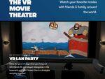 VR空間で友だちと大画面で映画が見れる「Bigscreen」が大型アップデート