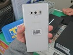 シリーズ最強スペックの「Galaxy Note9」に冬らしいホワイトモデル!