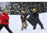 新潟県十日町市のスポーツレクリエーション大会で「雪玉サバイバルゲーム」を開催