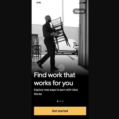 Uber新アプリは職探しを簡易化、オンライン講座も計画
