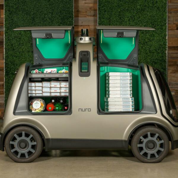 ドミノ・ピザ、Nuroの自動運転車「R2」を活用したピザ配達サービスを年内に開始