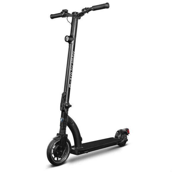 BMWが折りたためる電動スクーターを欧州で発売
