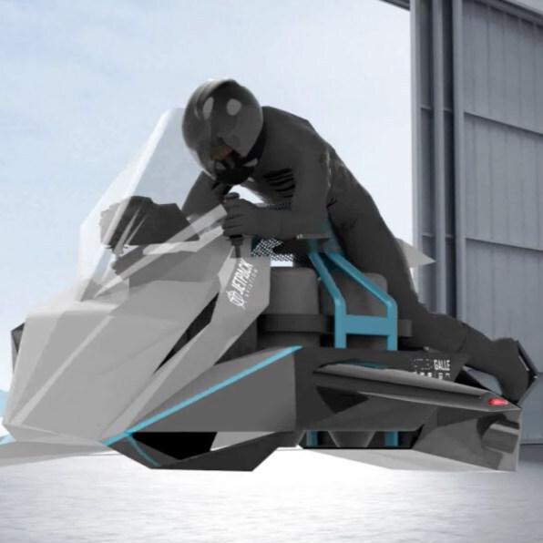 4200万円の空飛ぶバイク「Speeder」が予約開始!