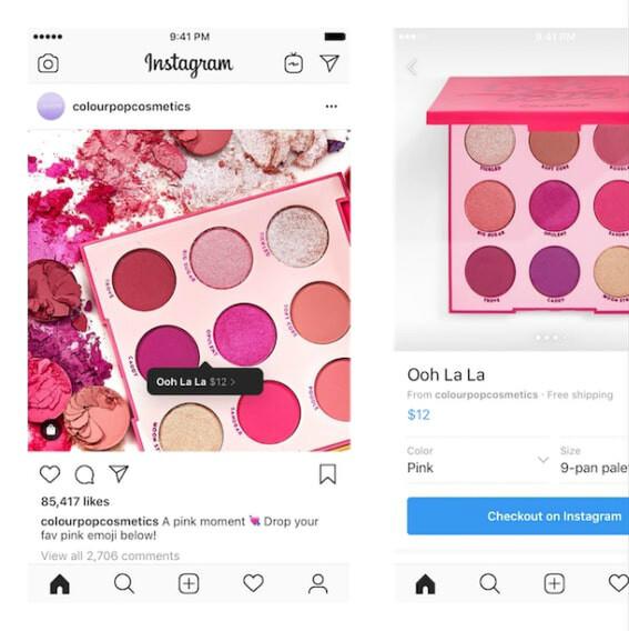 Instagramで商品購入が可能に! 新機能「Checkout」(ただしβ版)