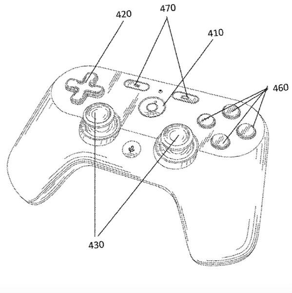 Googleのゲームコントローラーが特許資料からリーク