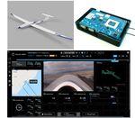 LTE通信での固定翼ドローン長距離飛行の実証実験に成功