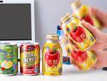 ゼリー炭酸「ぷるっシュ!!」から「芳醇アップル」「ビタエナジー」など