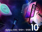 Galaxy S10/S10+/S10eのスマホケースをSpigenが発売
