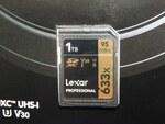 Lexarの1TBのSDXCカードが店頭に、価格は4万円弱