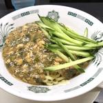 日高屋「ガパオ汁なし麺」という謎メニューに挑む