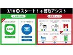 日本郵便、ゆうパックの届け予定をLINEで通知
