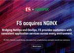 人気のWebサーバー「NGINX」の開発元をF5が買収