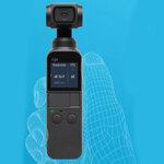 DJI Osmo Pocket予約開始 片手でラクラク動画撮影できる