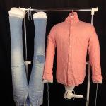 部屋干しの洗濯物をあっという間に乾かしてしまう人型乾燥専用エアーダクト