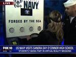 米海軍、高校生向けにVRコンテンツの体験会を開催
