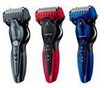 パナソニック、ドライ剃りにも泡剃りにも強い3枚刃リニアシェーバー「ラムダッシュ」