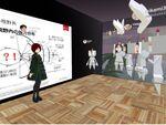 VR空間でVRを学ぶ「VRアカデミー」