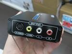 古いテレビで最新ゲーム機が遊べる! HDMIをS端子に変換するコンバーター