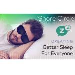 いびき防止スマートツール「Snore Circle Smart Eye Mask」