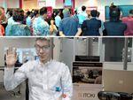 日本とグアムを繋いで「3Dモデル」で会話、5Gを活用