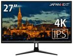 27型HDR対応4K液晶ディスプレー、JAPANNEXTより