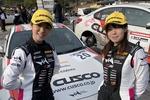 初新城ラリーでクラス3位を獲得した女性ドライバーチーム