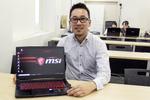 神戸電子専門学校が導入したのは、薄くて軽いのにパワフルなインテル第9世代コアのMSI製ゲーミングノートPC