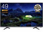 Amazonセール速報:タイムセール祭りでハイセンスの49V型液晶テレビが格安に