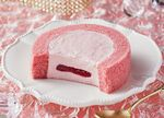 ローソン「ルビーチョコレートのロールケーキ」