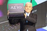 GIGABYTEが4K有機EL搭載ノートAERO 15 OLEDを発表