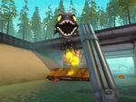 VRシューティングゲーム「Dick Wilde 2」川下りをしながら凶暴な生物をやっつけろ!