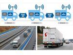 ソフトバンク、5G-NRを用いて新東名高速道路でトラック隊列走行の実験に成功
