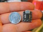 オリジナルの入力デバイスを自作できる1円玉サイズの超小型モジュール
