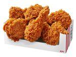 KFC「レッドホットチキン」「レッドホットサンド」