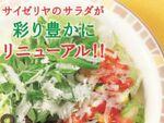 サイゼリヤ サラダを全面リニューアル