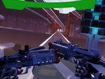 VRシューティングゲーム「Naked Sun」未来都市でアンドロイドと銃撃戦