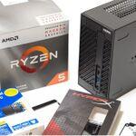 話題の「Ryzen 5 3400G」と「DeskMini A300」でギャルゲー専用PCを組んだ