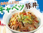 松屋「塩キャベツ豚丼」いきなり登場