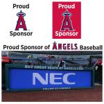 NEC、メジャーリーグ「ロサンゼルス・エンゼルス」とパートナーシップ契約を締結