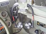 ハンヴィーのドライブ用冷却グッズとして扇風機を買いました