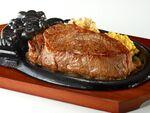 ブロンコビリー「炭焼き超厚切りサーロインステーキ」
