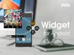 AWAがAndroid版ウィジェットを提供 ホーム画面で再生などが可能に