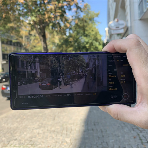 Xperia 1の映画風動画撮影アプリ「Cinema Pro」で撮影した